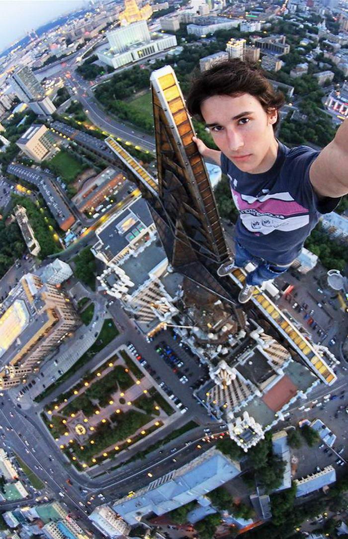 Yaratıcılıkta sınır tanımayan 10 selfie Rooftopper